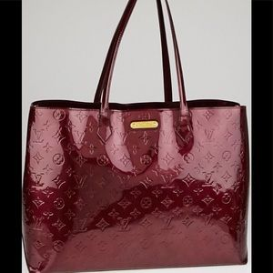 Louis Vuitton Tote Limited Vernis Wilshire GM